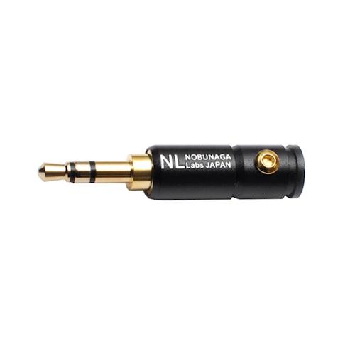 【まとめ買い 5セット 10%割引】3.5mm 3極 ステレオプラグ NLP-01B :: NOBUNAGA Labs