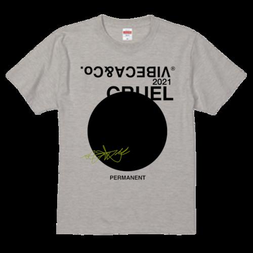 vibeca THE CIRCLE T オートミール【レギュラーフィット】