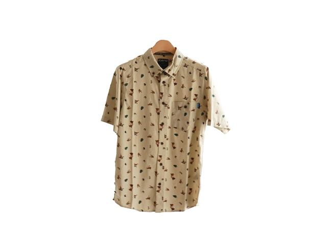 KAVU Juan  プリント柄 S/Sシャツ