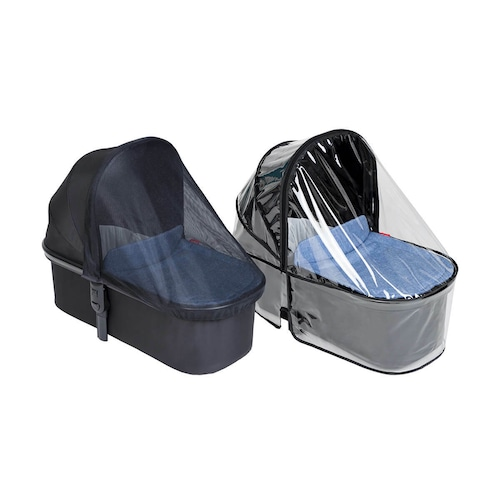 """phil&teds """"snug carrycot all weather cover set"""" フィルアンドテッズ キャリコット オールウェザーセット"""