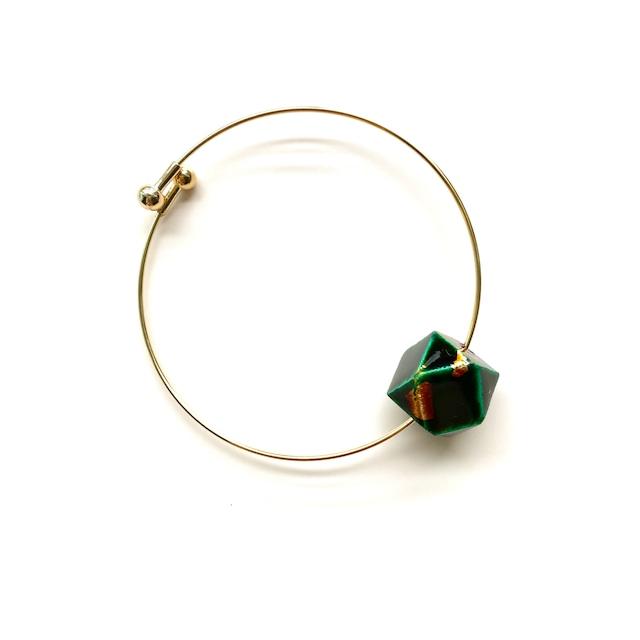 SBL003 飛騨春慶のブレスレット 緑箔
