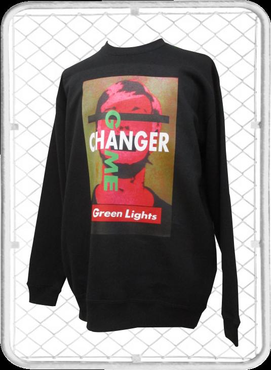 Green Lights Crew / グリーンライツクルーネックトレーナー
