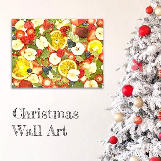クリスマスリースに代わるアートボード
