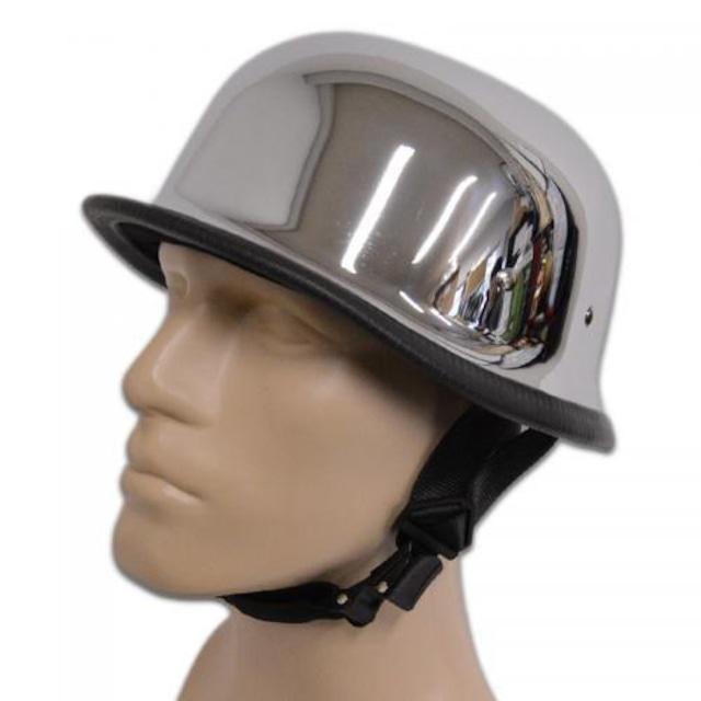 【JACKSUN'S/ジャックサンズ】 NOVELTY HELMETS ノベルティーヘルメット OUTLAW アウトロウ カラー:Chrome(クローム)