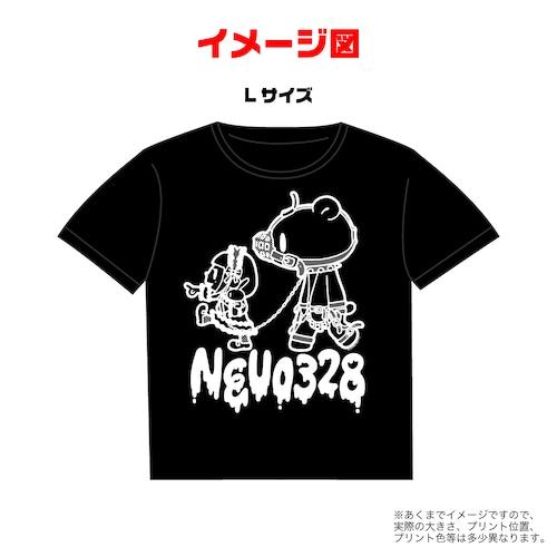 じゅじゅ ねう生誕Tシャツ2020 - グル〜ミ〜コラボTシャツ