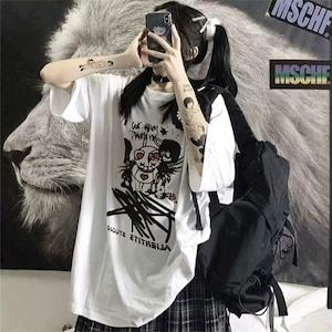 【トップス】半袖ストリート系プリント通勤Tシャツ29094717