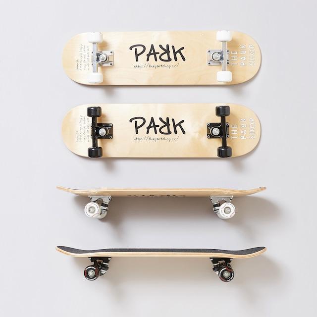 【21SS】THE PARK SHOP(ザ・パークショップ)BIGBOY SKATEBOARD( FREE ) white black スケボー