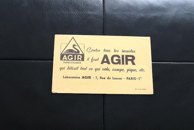 【フランス】ビュバー/ AGIR