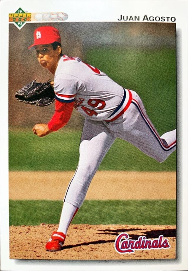 MLBカード 92UPPERDECK Juan Agosto #693 CARDINALS