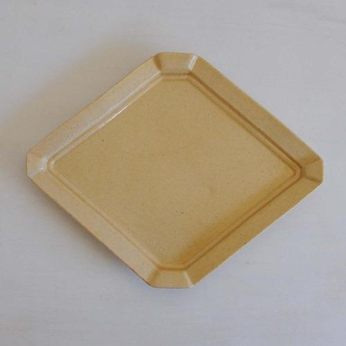 渡辺信史 フレーム菱皿 L(014)