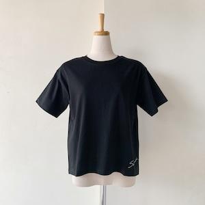 残り僅か!SYSORUS (シソラス) サイドロゴプリントTシャツ[SCRIPT] R129202