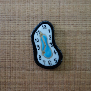 時計(帯留・ブローチ)