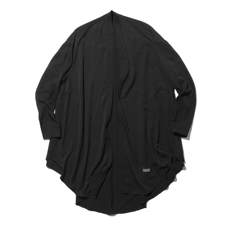 747SHM3-BLACK / ローブシャツ