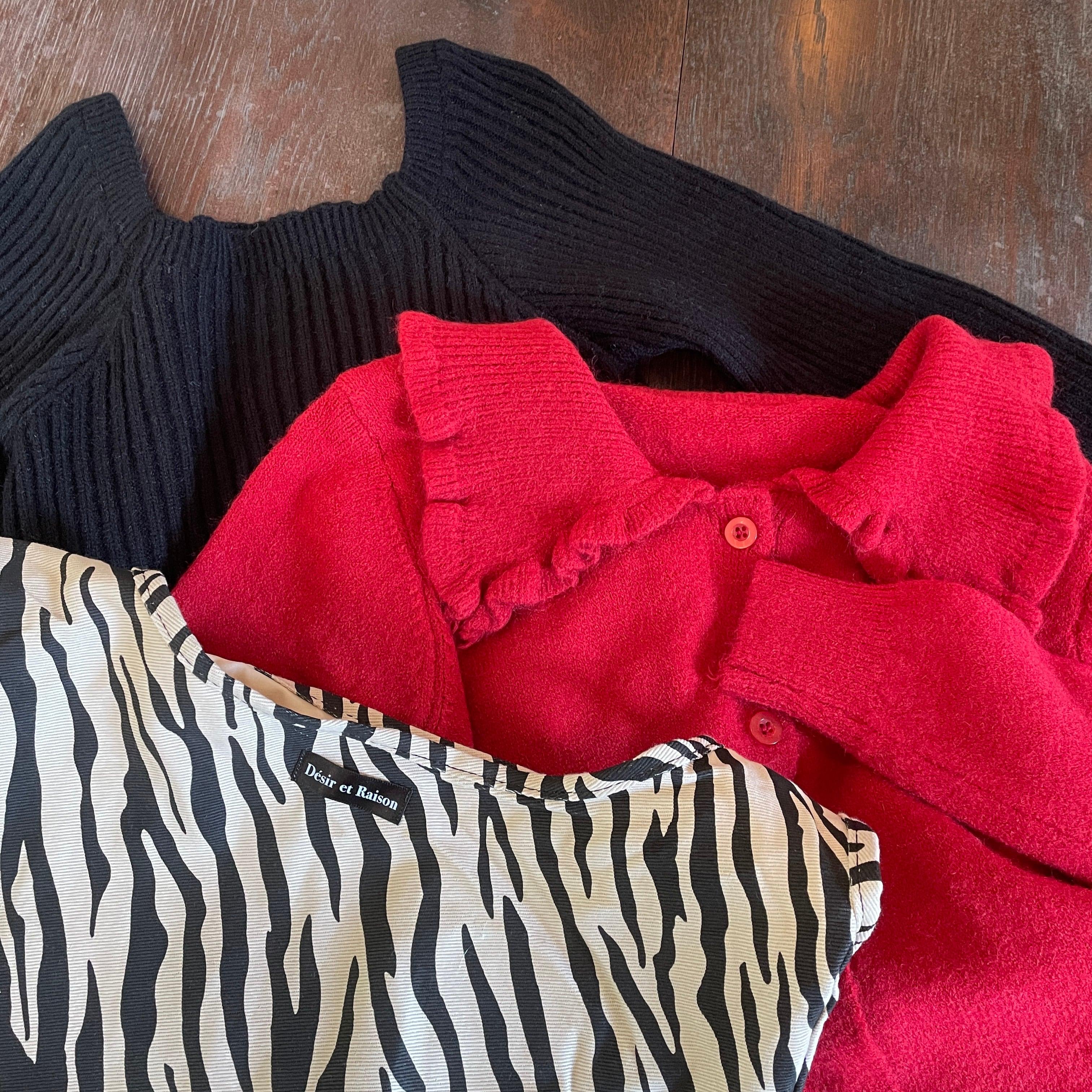 【予約】Désir original zebra bag