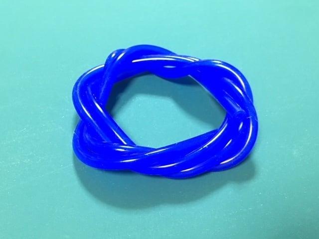 ◆外径5mm*内径3mm 長さ1m★グロー燃料シリコンチューブ 、カラー(ブルー)