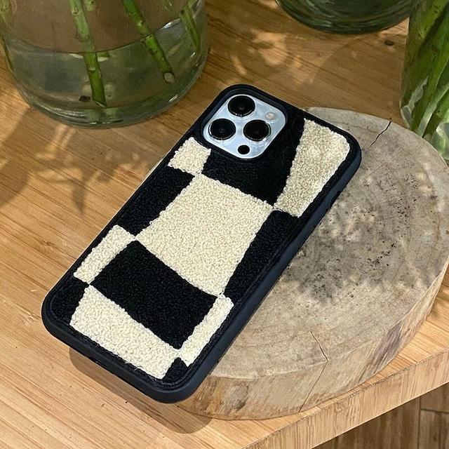 Mokomoko fur iphone case