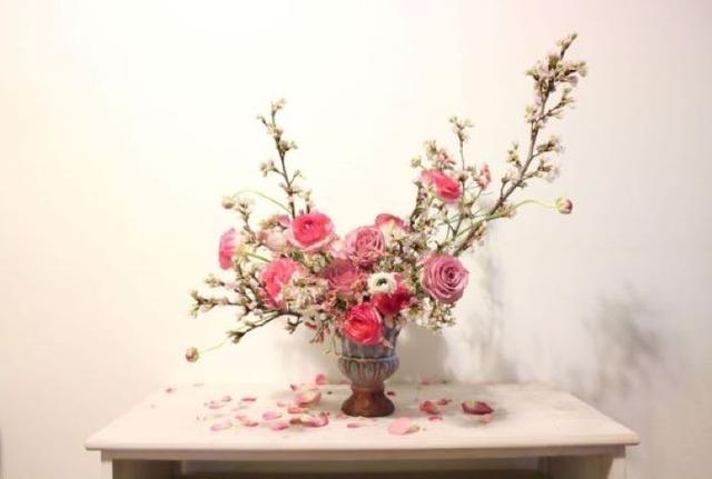 おうちでお花見❀さくらブーケ