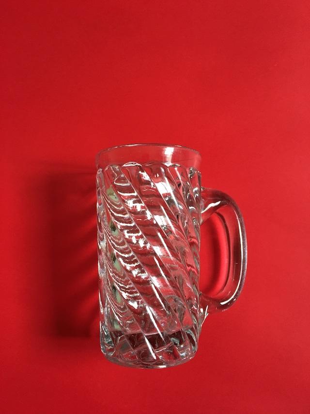 Vintage Glass Stripe