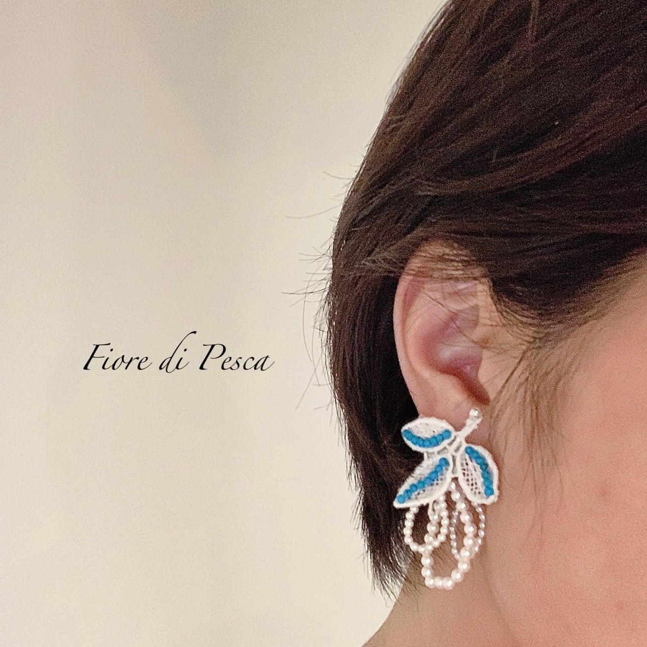 Hepburn Pierce/Earring (turquoise)