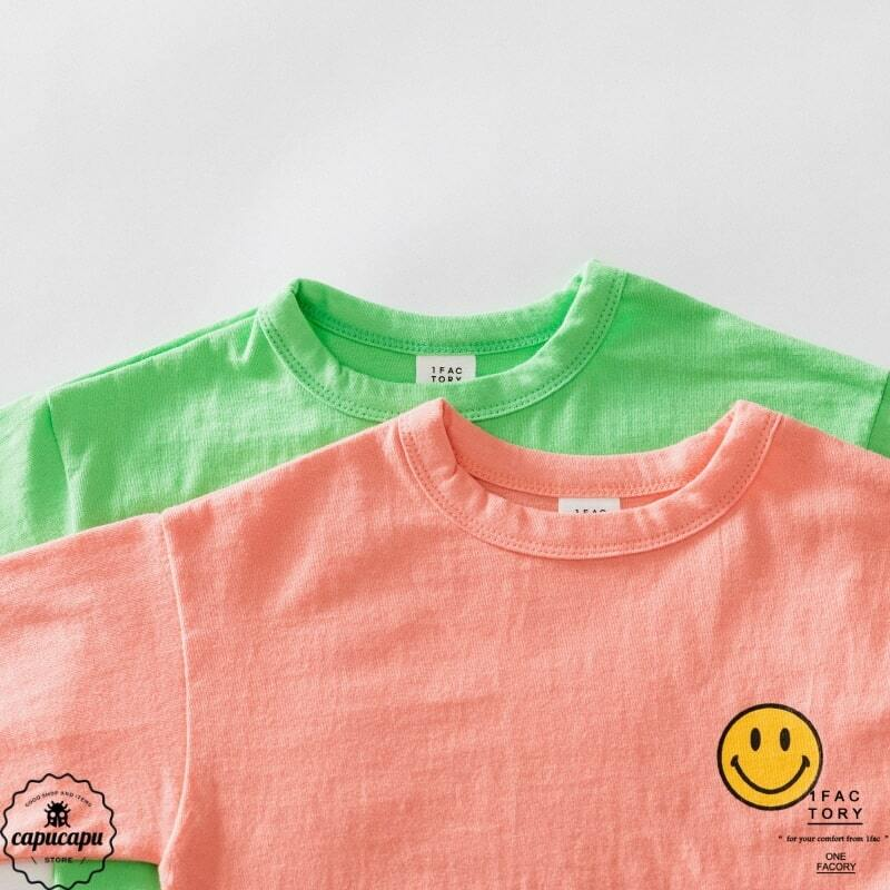 «sold out» smile T-shirt 2colors スマイルTシャツ
