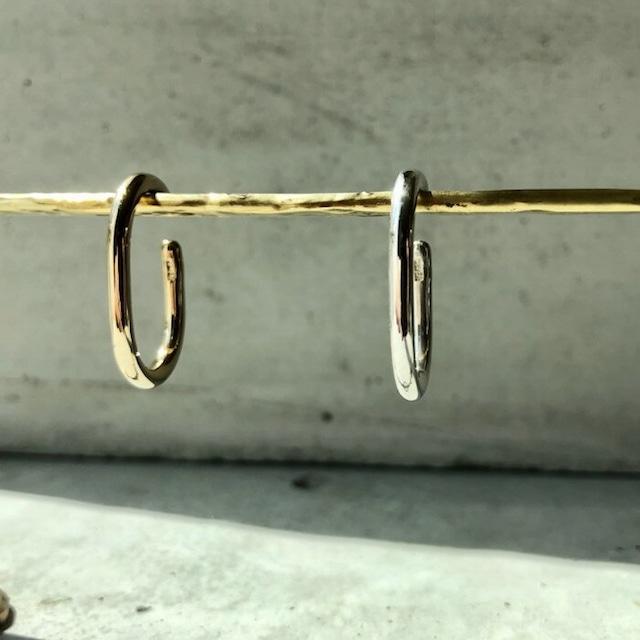【LEF-01SV】Elliptic Ear cuff