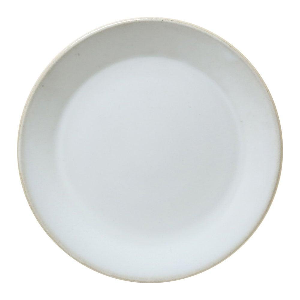 益子焼 つかもと窯 「伝統釉」 フラット プレート 皿 L 約25cm 糠白釉 TH-3