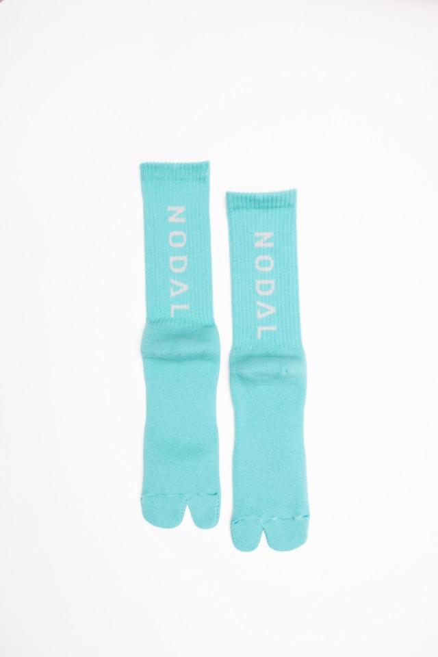 NODAL Logo Socks(Sax × Gray)