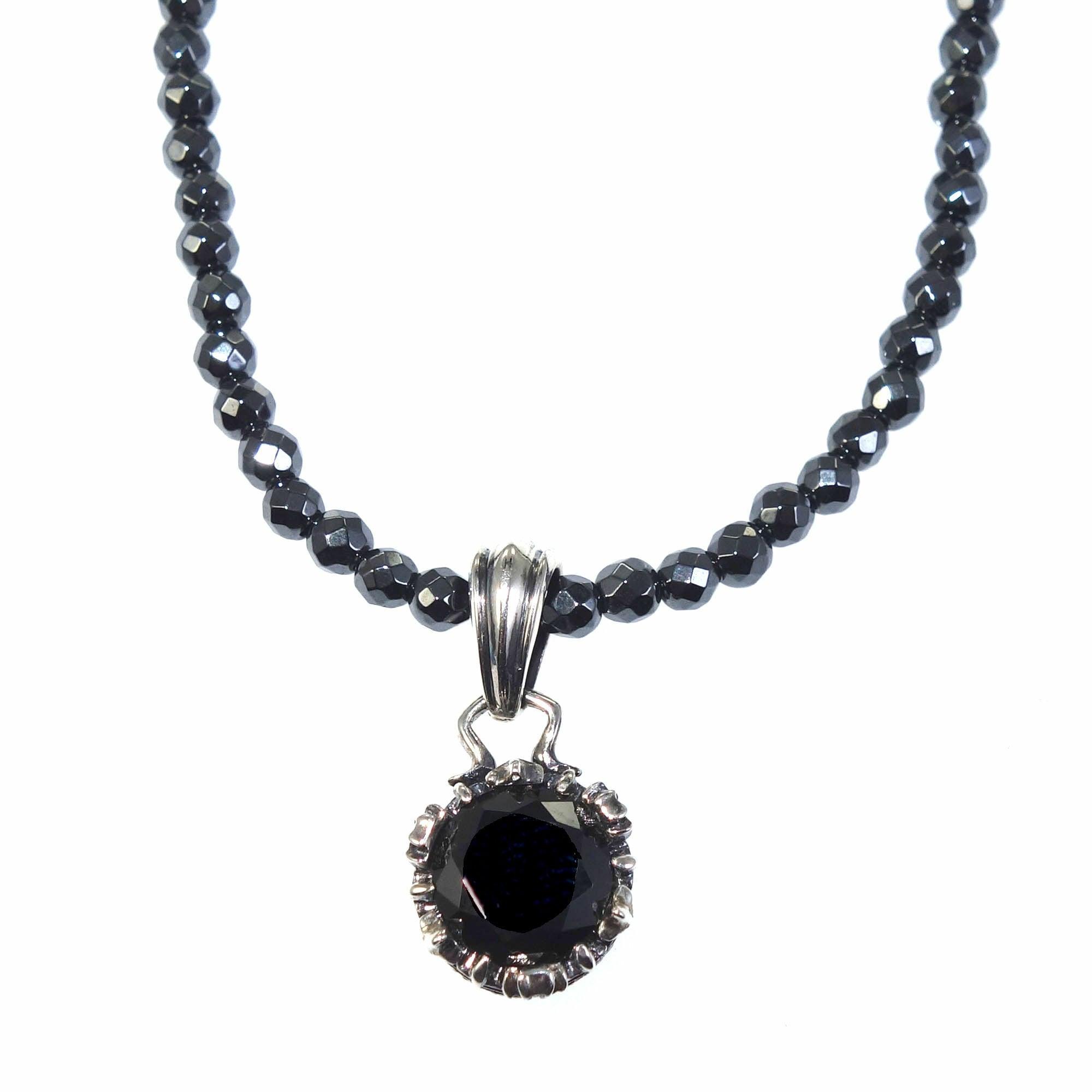 ミニクラウンチャームBK ACP0263 Mini crown charm black