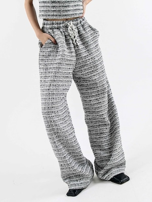 【WOMENS - 1 Size】TWEED EASY PANT / 2colors