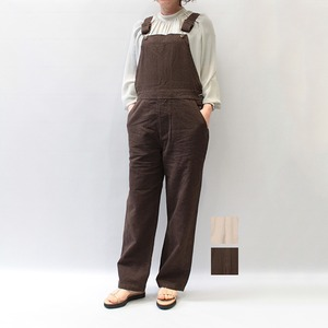 OUTERSUNSET(アウターサンセット) cotton linen overall 2021春夏新作 [送料無料]