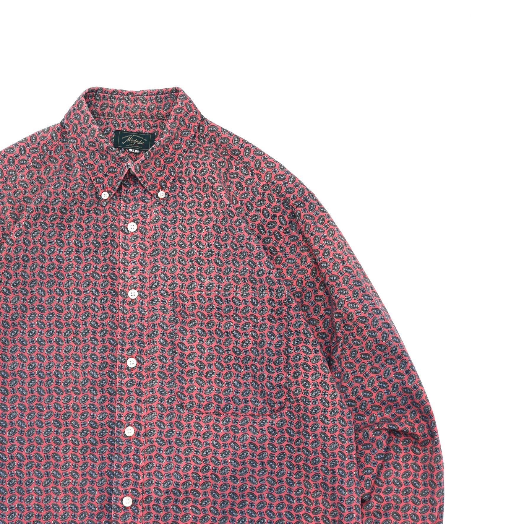 Fine full pattern cotton BD shirt