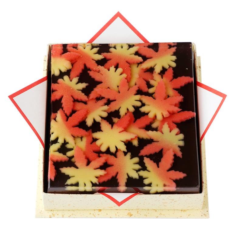 京の秋 (黒糖羊羹)