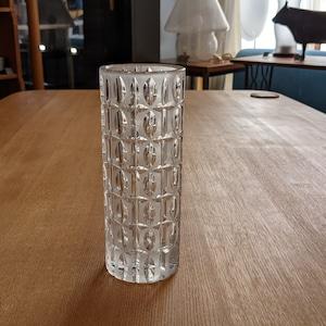 Vintage Nachtmann Cut Crystal Vase Germany ナハトマン フラワーベース 花器