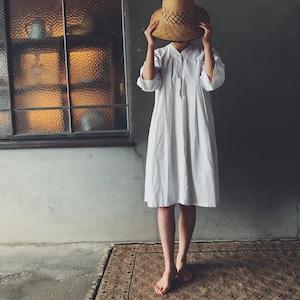 French shirt dress ①
