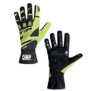 KK02743E059  KS-3 Gloves (Black/fluo yellow)