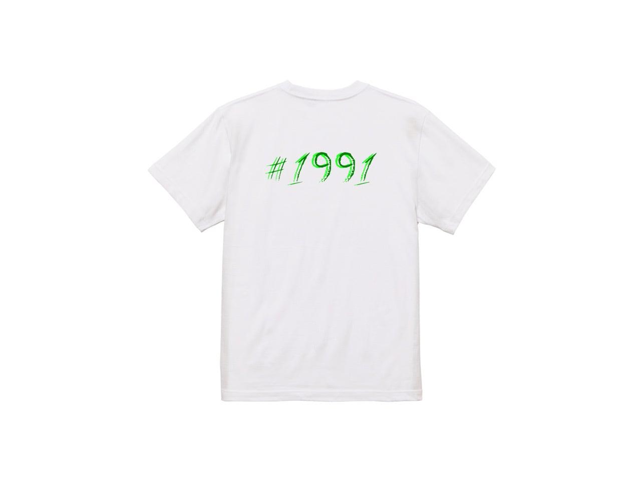 #1991 Back 2color T-shirts (LGR/DGR)