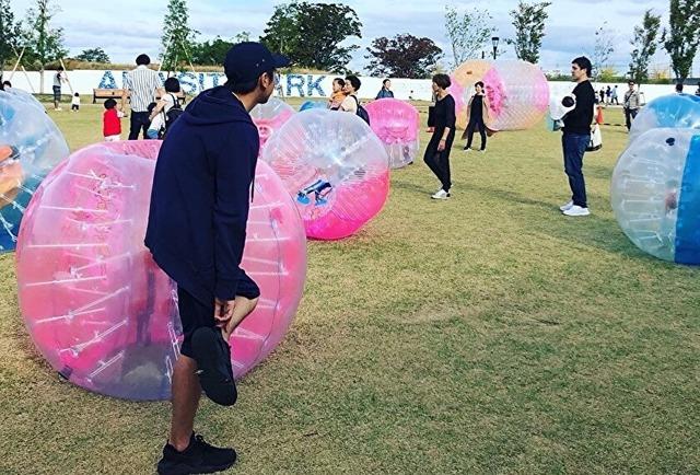 【企業研修・各種イベントで大人気!】バブルボールで組織活性化