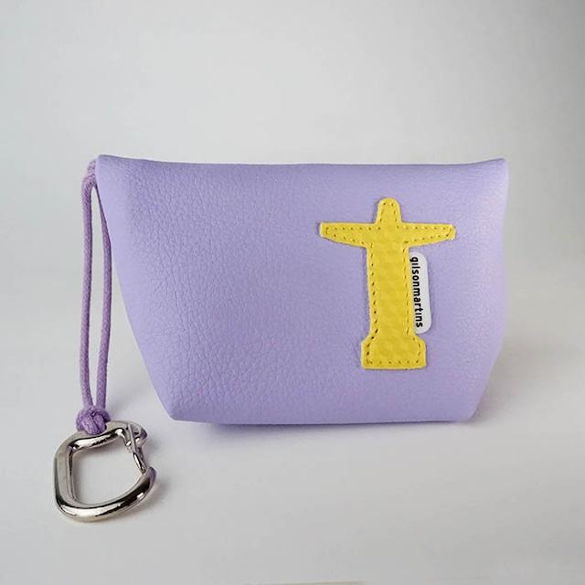 ジルソン・マルチンス GUIGO RIO Christ パステル 紫・黄色