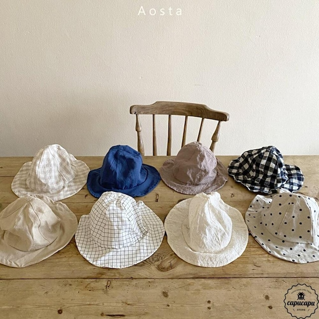 «sold out» Aosta summer hat 8colors 帽子