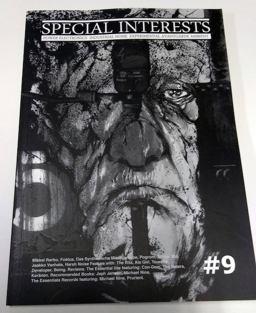 [USED] SPECIAL INTERESTS #9 (2013) [ZINE]