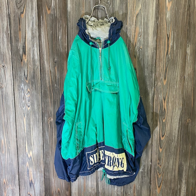 [used]simple strong design pullover jacket
