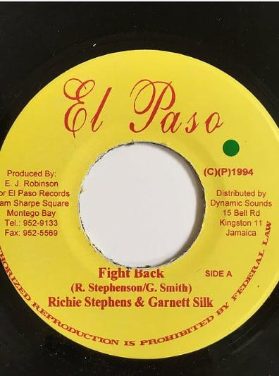Richie Stephens(リッチースティーブンス) & Garnet Silk(ガーネットシルク) - Fight Back【7'】