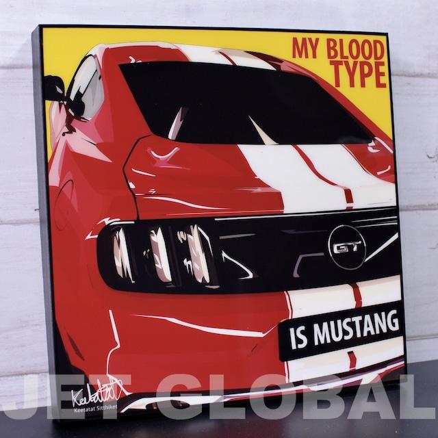 マスタング/ MUSTANG / Lサイズ 52cm / PAPC_0017