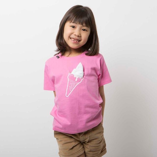 KIDS icecream Tシャツ(ピンク)