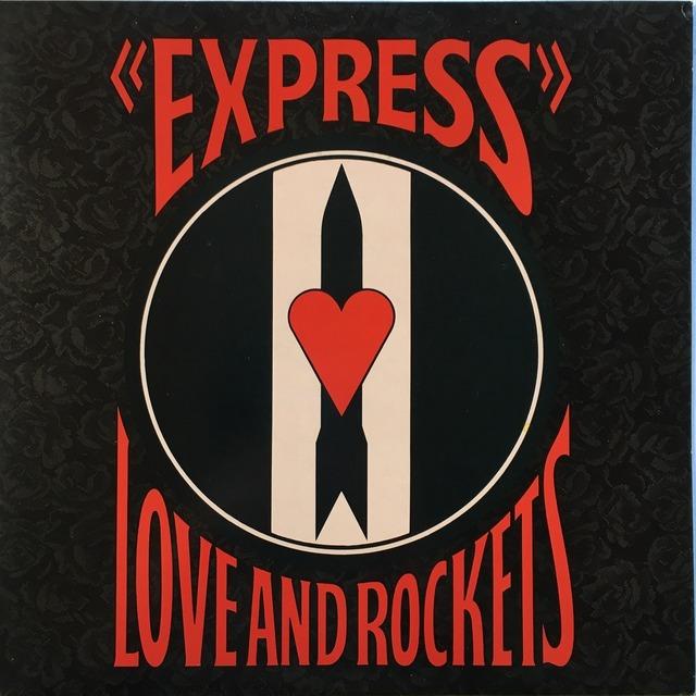【LP・英盤】Love and Rockets  / Express