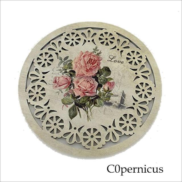 バラコースター単品(C)薔薇雑貨:浜松雑貨屋 C0pernicus