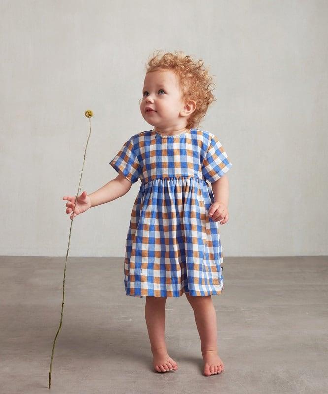 Oeuf short sleeve dress