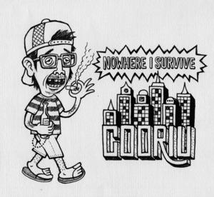 """COORIU / Nowhere I survive""  CD Album"