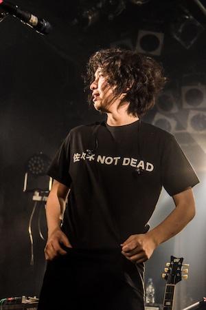 佐々木 NOT DEAD Tシャツ