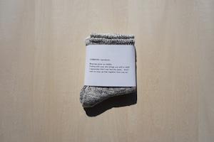 organic cotton socks[gray]
